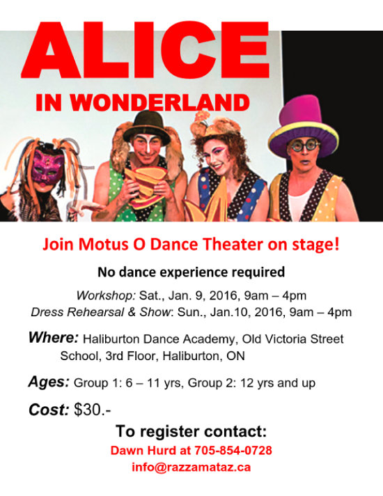 Join Motus O Dance Theater poster